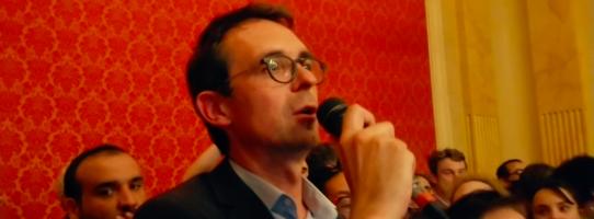 François Dechy, le nouveau maire de Romainville ©Jean-Claude Djian